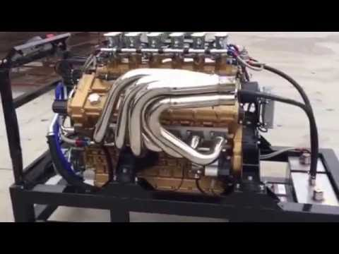 Lamborghini Class 1 Offshore 800hp engine sound