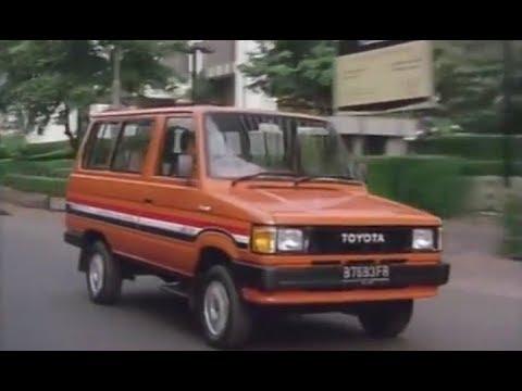 Iklan Jadul Toyota Kijang Super 1986