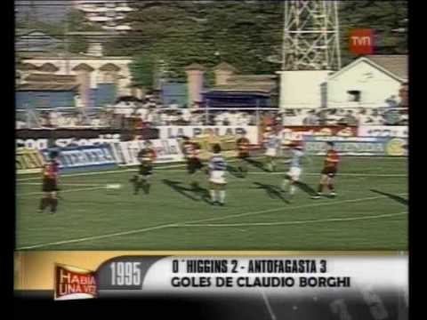 los 16 goles de Claudio Borghi