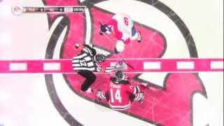 """NHL 12: Online Versus Gameplay #1 """"NJ vs. FLA"""""""