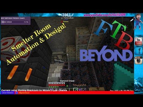 ♠ FTB Beyond LIVE & UNCUT! Recap ♥ Smelter room Design and automation!