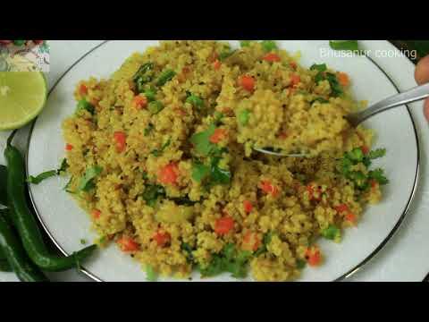 Quinoa Upma Recipe   How To Make Stir Fried Quinoa  High Protein Quinoa Recipe