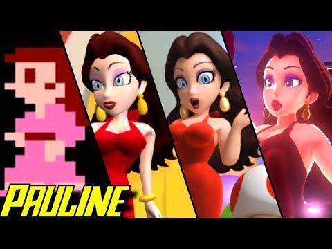 Evolution of Pauline in Mario Games (1981-2017)