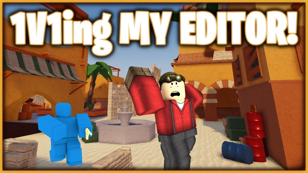 1v1ing MY EDITOR! | (he is insane)