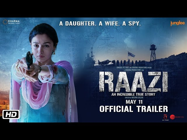 """Raazi""""… A conveniently scripted thriller that chugs along"""