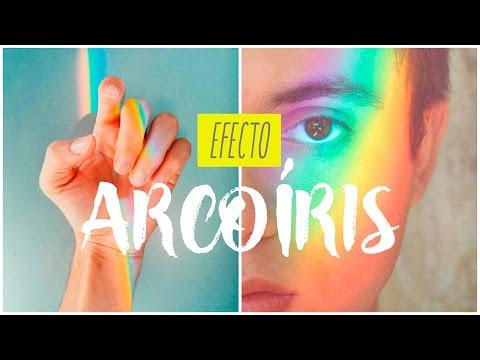 EFECTO ARCOIRIS PARA TUS FOTOS! - ESTILO TUMBLR | DIY | MADE IN DEXEL