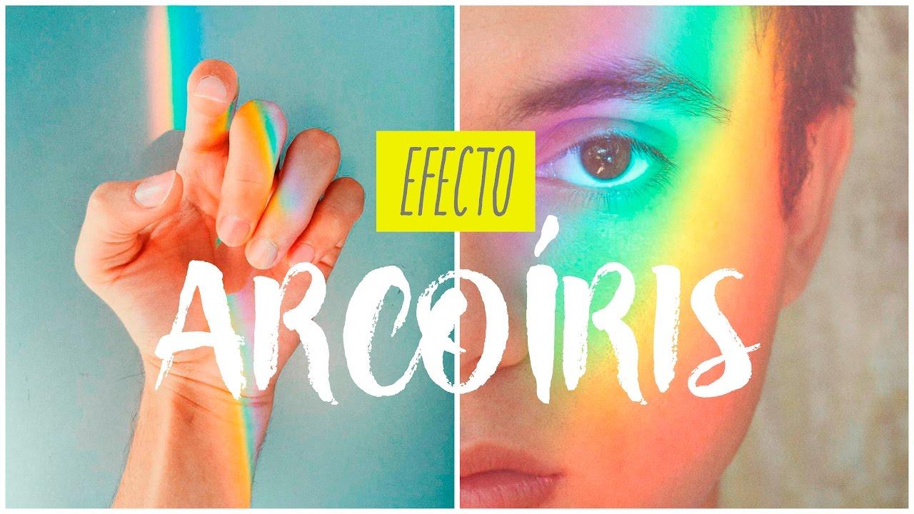 EFECTO ARCOIRIS PARA TUS FOTOS  ESTILO TUMBLR  DIY