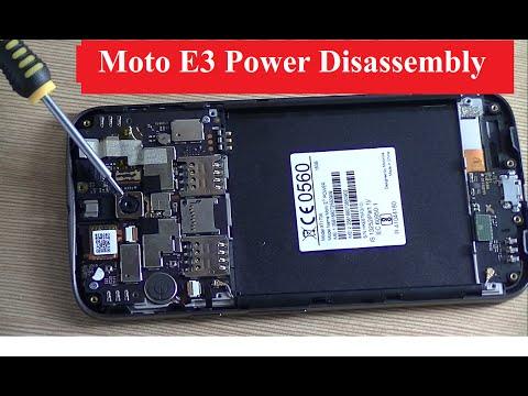 Moto E3 Power  Disassembly