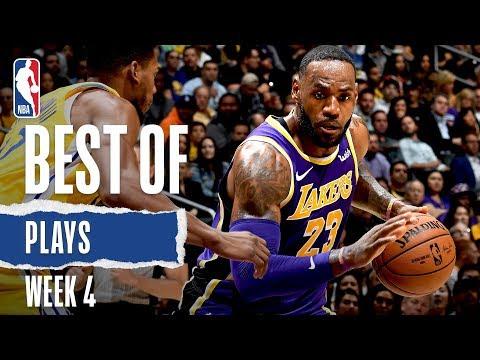 NBA's Best Plays From Week 4   2019-20 NBA Season