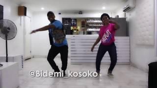 Eltee and his sister Bidemi Kosoko's REPEAT Dance Video