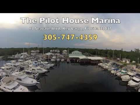 Pilot House Marina: Key Largo, FL - feat. Waterfront Dining/ Glass Bottom Tiki Bar