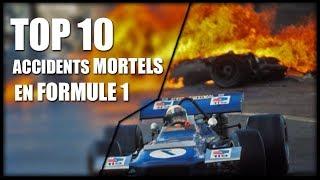 TOP 10 DES PIRES ACCIDENTS MORTELS EN FORMULE 1