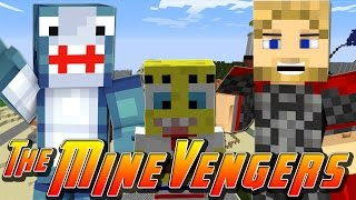 Minecraft MineVengers - VISITING BIKINI BOTTOM!
