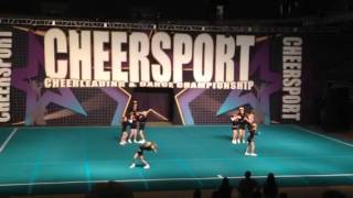 Fury Athletics Whirlwind Cheersport Kansas City