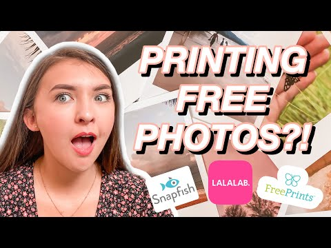 HOW TO PRINT PHOTOS FOR FREE?! Lalalab, Snapfish And Free Prints Review | Emily Louise
