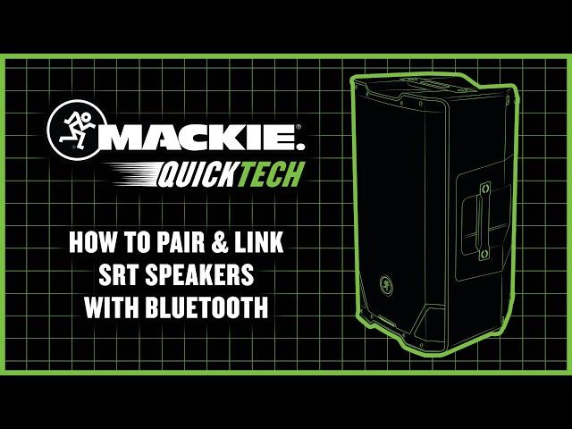 SRT Loudspeakers Pairing vs  Linking - QuickTech