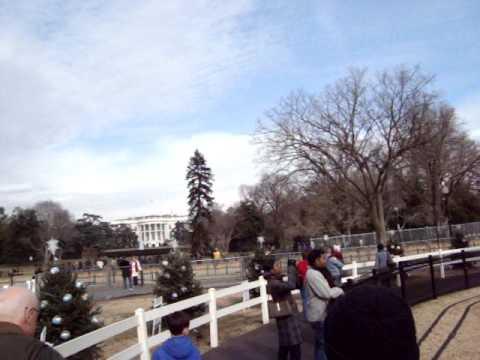 EUA - Washington, DC - National Christmas Tree and White House