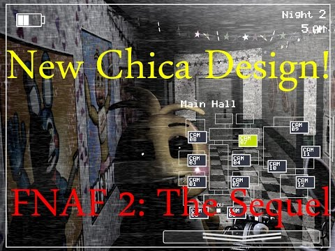 New Chica Design!-Five Nights At Freddy's 2: The Sequel Breakdown (#1)