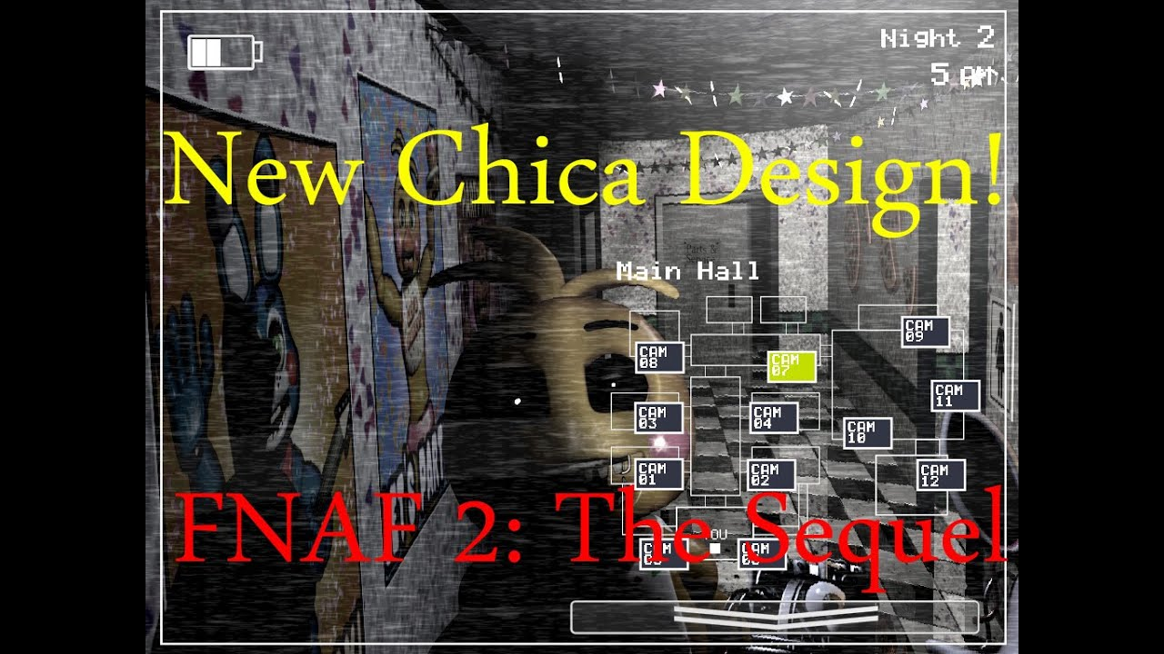 New chica design five nights at freddy s 2 the sequel breakdown 1