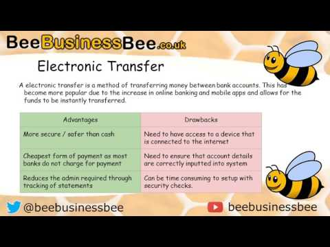 Different Ways to Pay Presentation (BTEC Nationals Business)