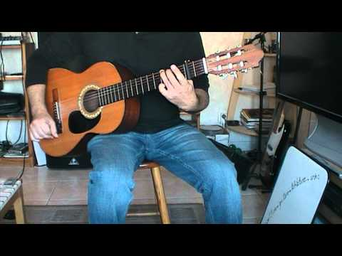 Adele - Someone Like You ( une rythmique guitare )