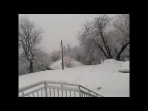 Wonderful Snow in Kosovo 2013