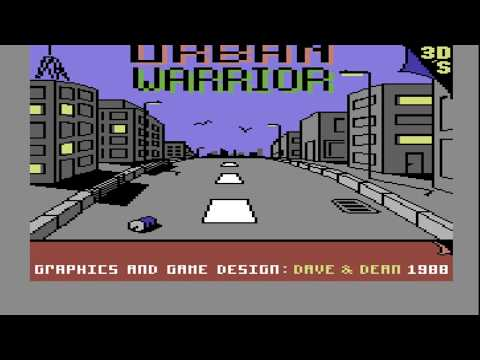 C64 SEUCK Game: Urban Warrior
