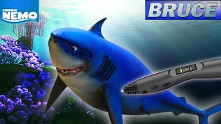 3D pen creations | Bruce | Great white shark | Finding Nemo | Smoothing |