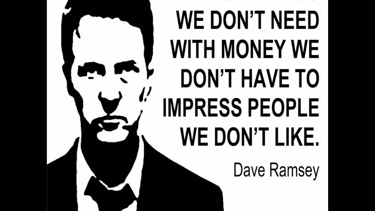Best Quotes Of Dave Ramsey Youtube