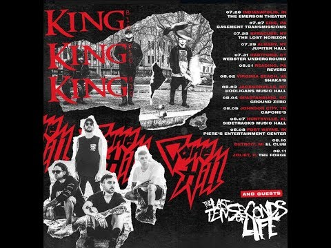 King 810, Cane Hill and The Last Ten Seconds Of Life U.S. Tour announced..!
