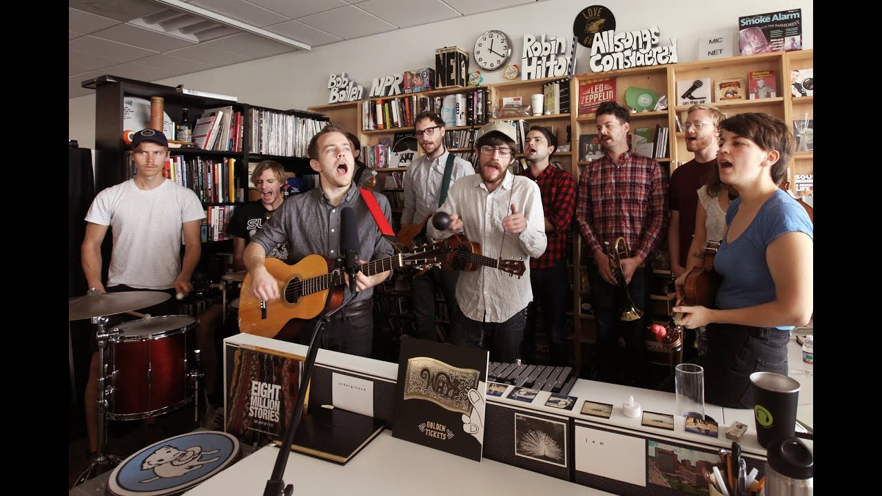 Typhoon Npr Music Tiny Desk Concert Youtube