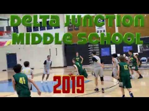 ????  2019 Delta Junction Middle School Basketball Season ????