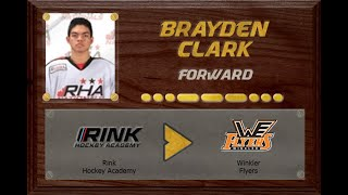 Brayden Clark - CSSHL to MJHL | Stand Out Sports Client Hall of Fame