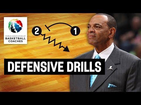 Defensive Drills - Lionel Hollins Brooklyn Nets - Basketball Fundamentals