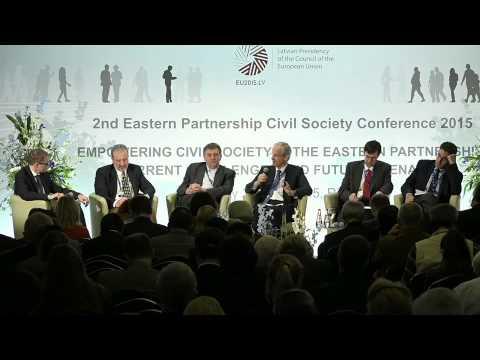 2. panelis (LV): Austrumu partnerības Pilsoniskās sabiedrības konference