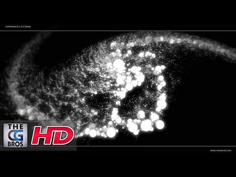 "CGI Animated Short/Particle Software Demo HD: emNewton2 v.2.0 (beta) ""Celestial Chaos"" by Eric Mootz"