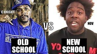OLD SCHOOL vs NEW SCHOOL | C-Knight vs Nov RAP BATTLE