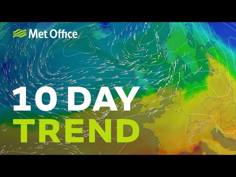 10 Day trend - How long with the warm sunshine last?