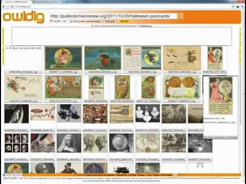 Grab and download website images with OWIDIG - part 2