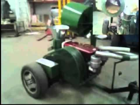 Mobile pellet mill - Presse a granule mobile