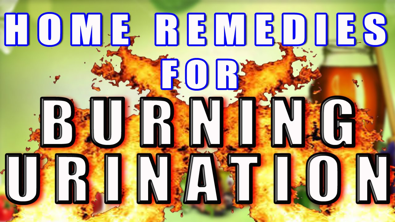 How do you treat urinary burning?