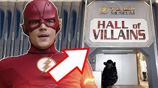 The Flash Museum Returns! Crisis on Infinite Earths Connection? - The Flash Season 6