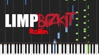 Limp Bizkit Rollin Instrumental Synthesia