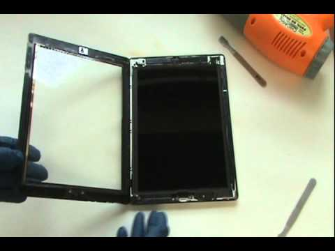 iPad 3 Screen Repair Tutorial Replace Cracked Glass | GadgetMenders.com
