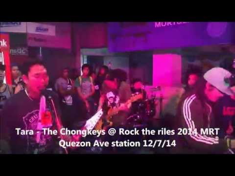 Tara HD - The CHongkeys @ Rock the Riles 2014 - MRT Quezon Ave Station 12/7/14