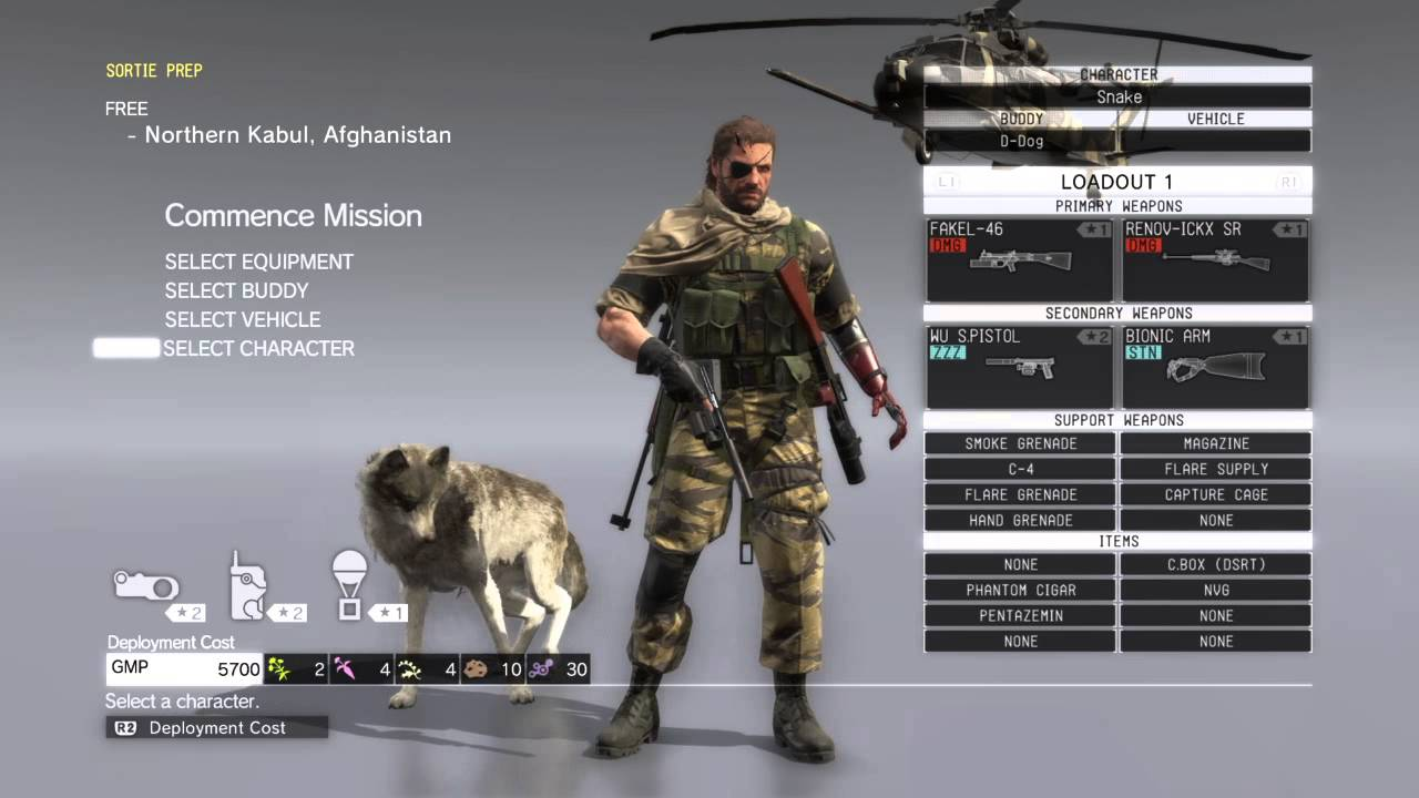 metal gear solid 5 how to make female soliders wear