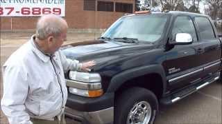 2002 Chevrolet Silverado 2500hd Video Test Drive