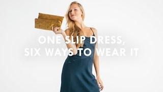 J.Crew Style Hacks: The Slip Dress, 6 Ways