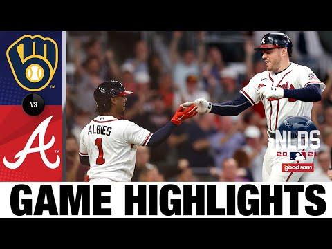 Brewers vs. Braves NLDS Game 4 Highlights (10/12/21)   MLB Highlights