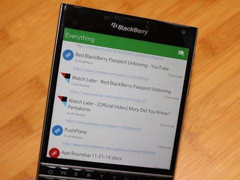 PushPlane for BlackBerry 10